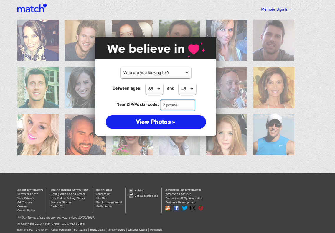 Match.com is the original and largest dating site - Best